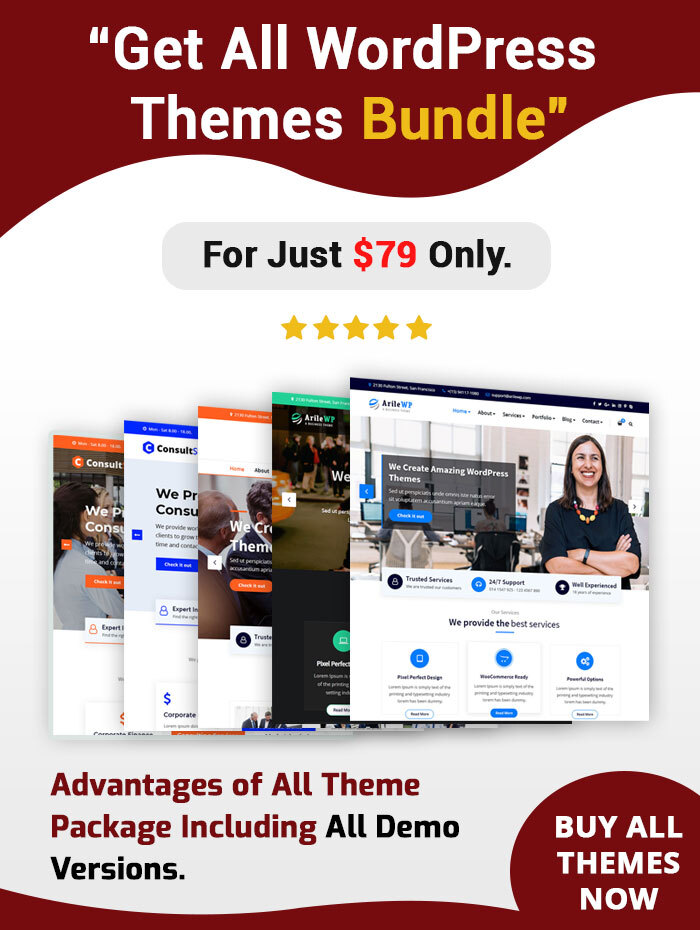 ArileWP Pro WordPress theme
